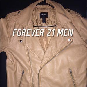 Forever 21 Men Leather Jacket